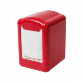 Dispensador MiniServi PVC Rojo