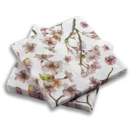 Servilleta Flores Rosas