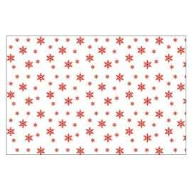 Mantel Navidad Blanco Copos de Nieve