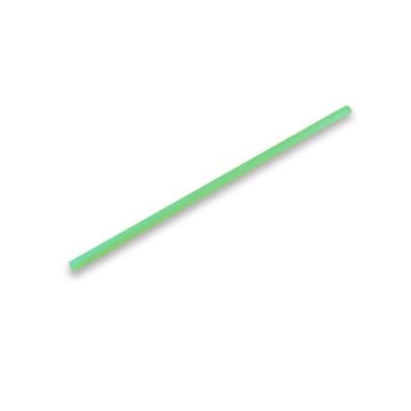 Pajita Recta Compostable Enfundada Verde