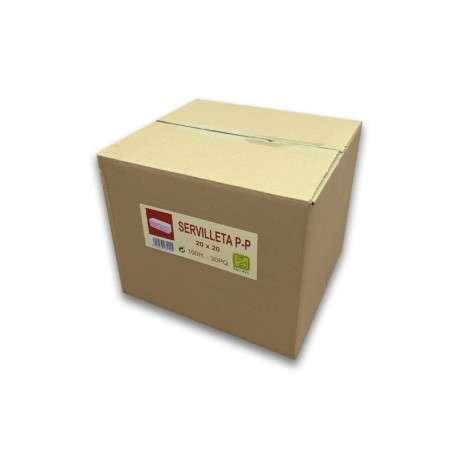 Servilleta reciclada 20x20 2 CAPAS