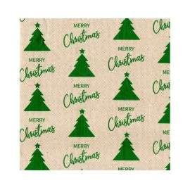 Servilleta ecológica 40x40 PP Merry Christmas