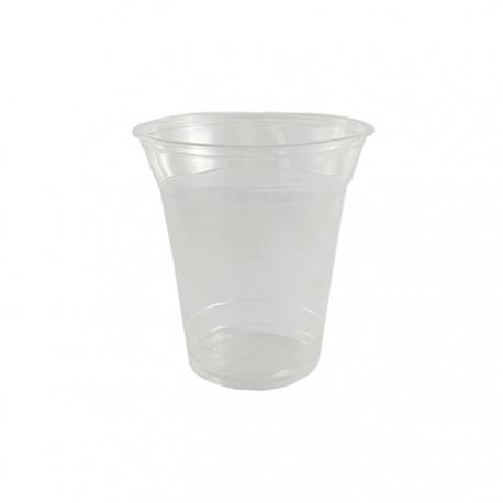 Vaso Compostable bebidas frias 7 oz transparente