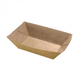 BARQUETA KRAFT COMPOSTABLE 300ml