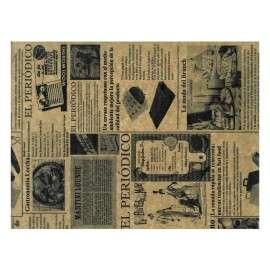 PAPEL ANTIGRASA Periódico Marrón 31x28 cm