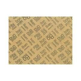 Mantel de papel Kraft individual decorado