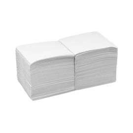 Servilleta punta-punta 20x20 blanca 2 capas