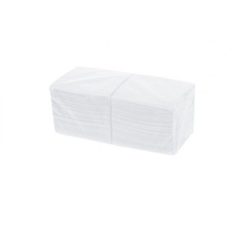 Servilleta 20x20 blanca 2 capas